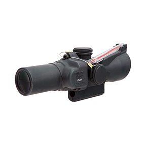 Trijicon 1.5x24 Compact ACOG® Scope, Dual Illuminated Red Crosshair Reticle w/ Colt Knob Thumbscrew Mount & M16 Carry Handle Base and Mounting Screw