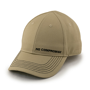 No Compromise Tan Hat