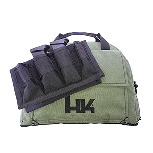 HK Medium Pistol Bag With 4 Magazine Pouch, OD Green