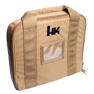Nylon Handgun Case, Tan