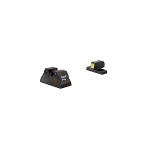 Trijicon HK P2000 HD Night Sights with Yellow Front Outline