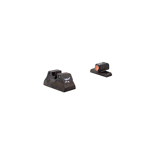 Trijicon HK P2000 HD Night Sights with Orange Front Outline