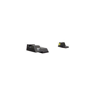 Trijicon HD XR HK45/P30/VP9 Night Sight Set Yellow Front Outline
