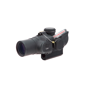 Trijicon 1.5x16S Compact ACOG® Scope, Dual Illuminated Red Ring & 2 MOA Center Dot Reticle w/ M16 Carry Handle Base and Mounting Screw